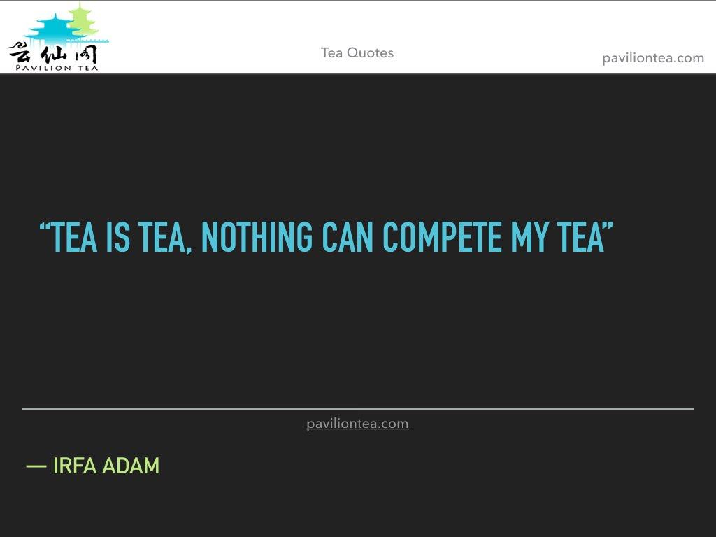 tea is tea